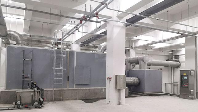 济南东站水质进化厂除臭系统工程