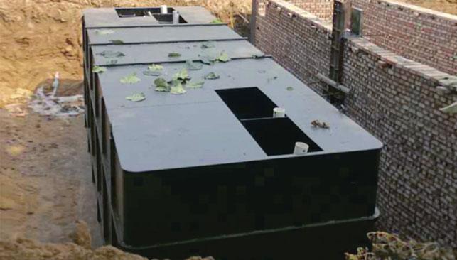 农村生活污水处理一体化设备(地埋式)