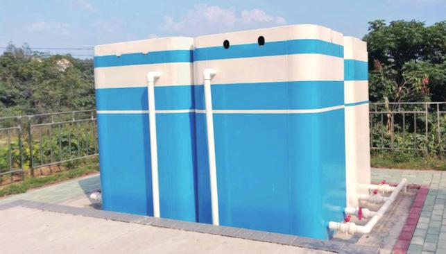 农村生活污水处理一体化设备(地面式)