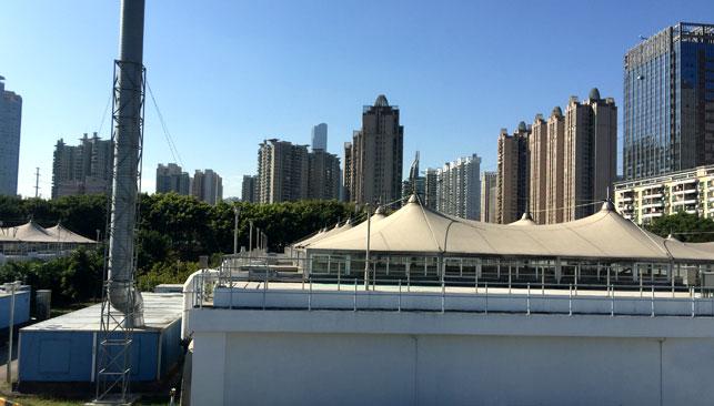 广州猎德污水处理厂生物反应池除臭工程