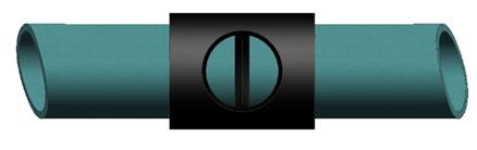 承插口膠黏劑連接