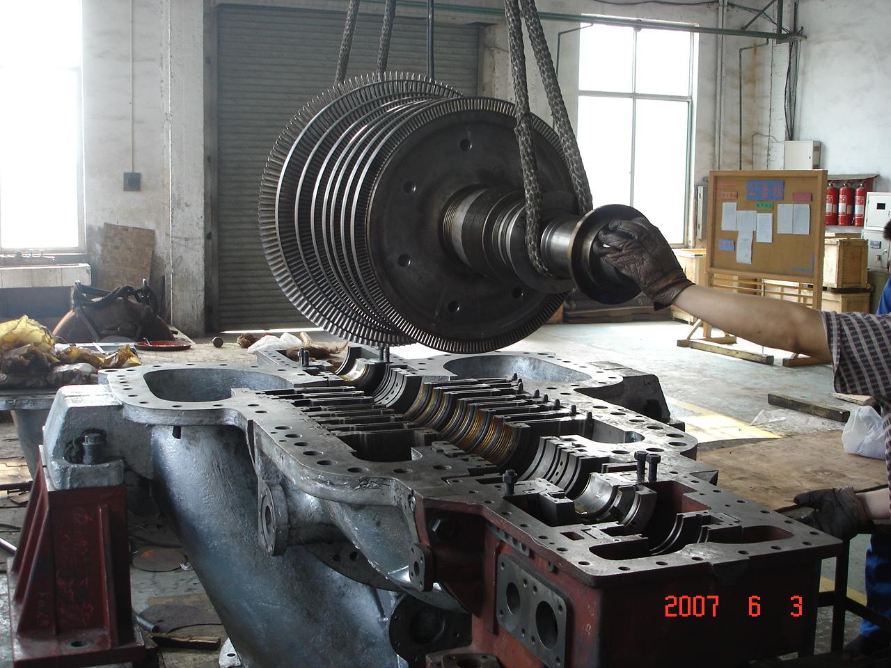 汽輪機、工業汽輪機