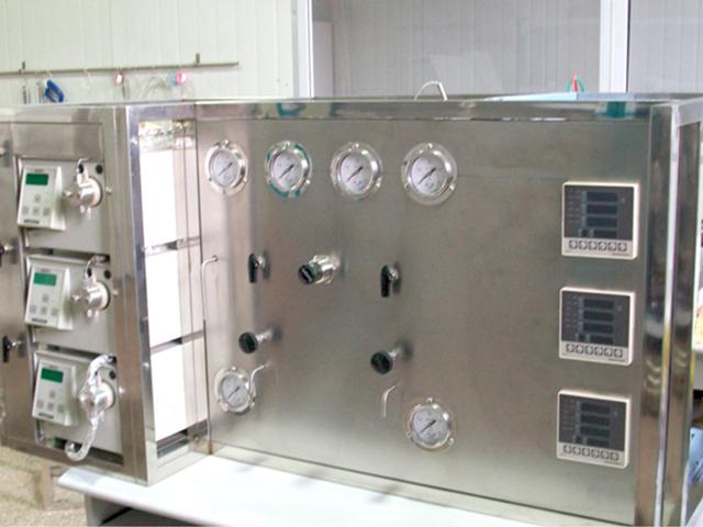 小型脈衝電脫鹽試驗裝置