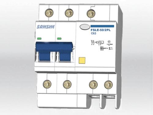 FS1LE-50/2PL 塑料外殼漏電斷路器