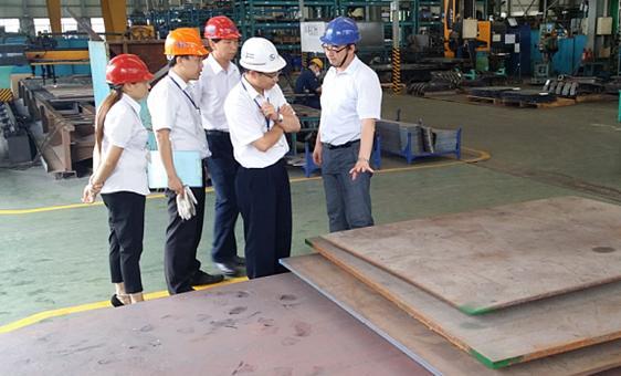 廈門宇龍機械有限公司正式順利通過ISO3834-2國際焊接質量體系認證