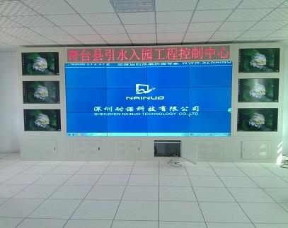 新疆奇臺縣某房地產開發有限公司安裝液晶拼接展覽展示系統