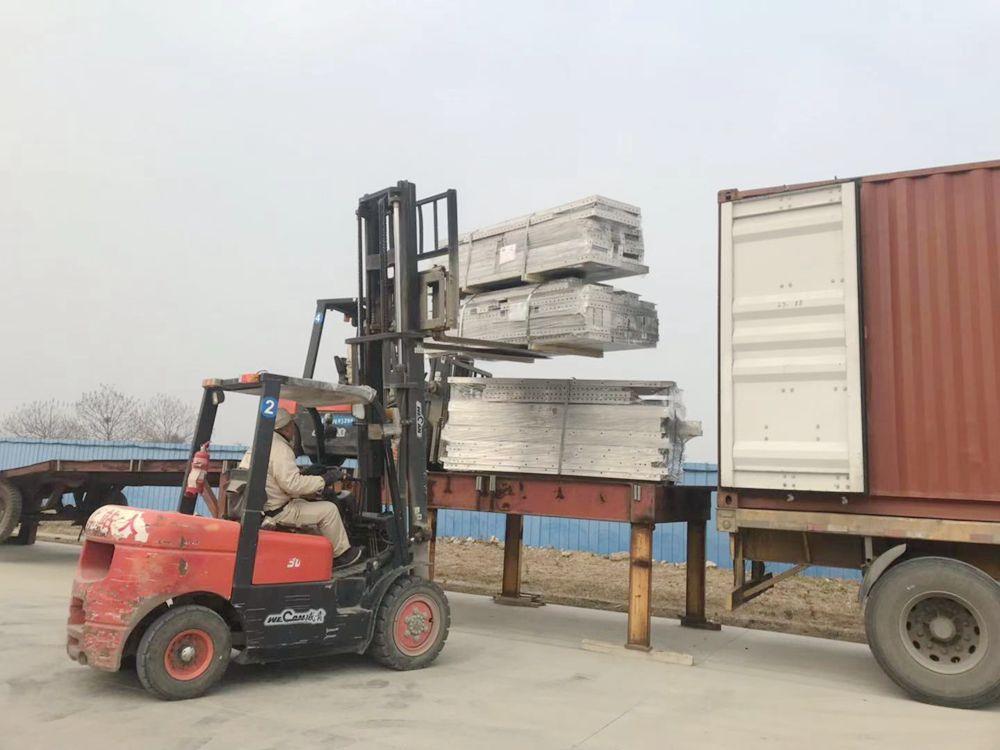 國內國外兩手抓 合作共贏齊發展——邁拓林鋁模板馬來西亞RWIP項目順利交貨
