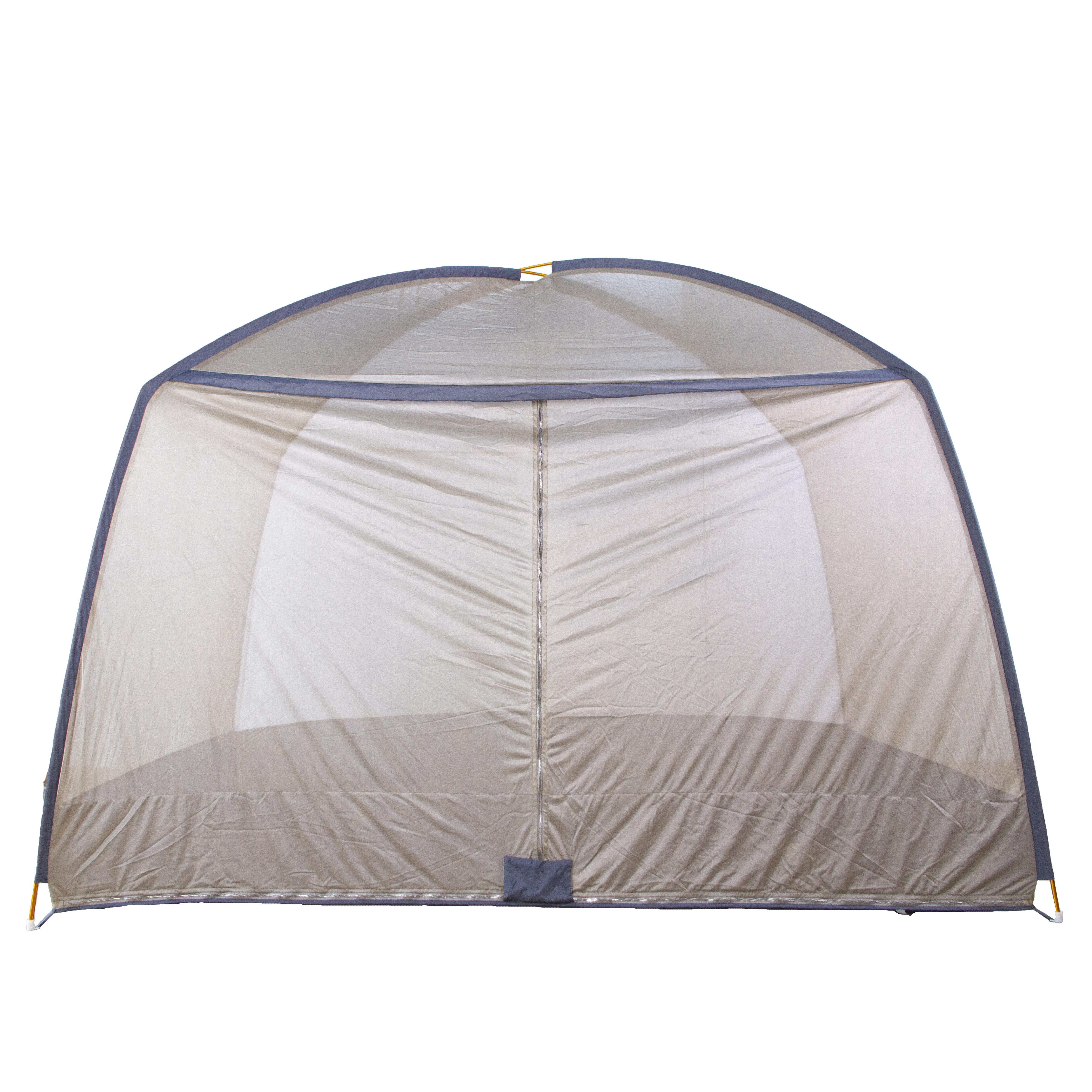 全封閉帶拉鏈鍍銀布電磁波屏蔽帳篷