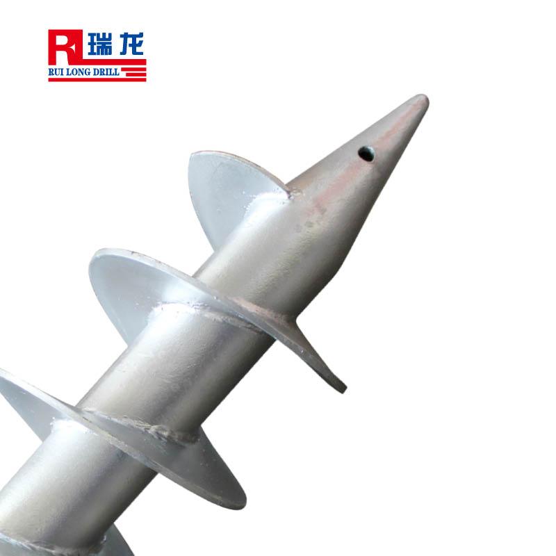 螺旋地桩 桩基钻杆  规格可定制 瑞龙钻具