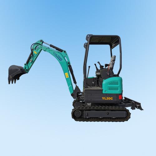 YL20C微型履带挖掘机