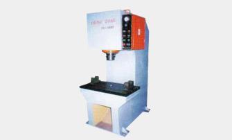 WLS-100型立式液壓校正機