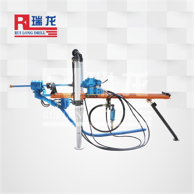 架柱气动式钻机 ZQJC160 4.6瑞龙钻具
