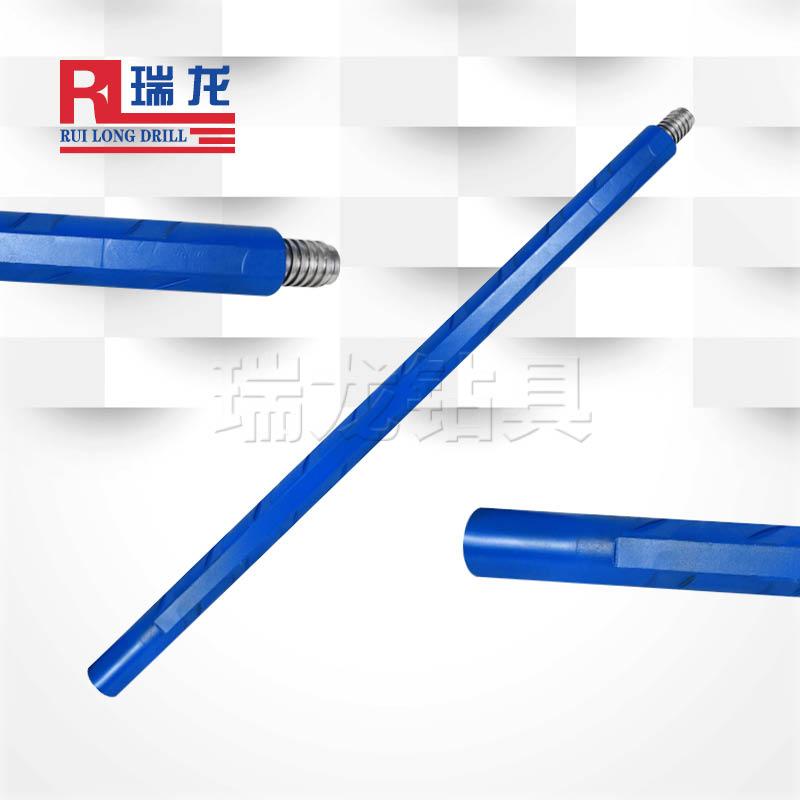 φ50重型三棱刻槽钻杆 异型多棱刻槽钻杆——瑞龙钻具