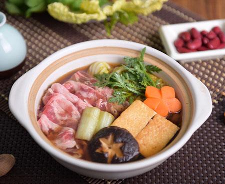日式牛肉壽喜鍋