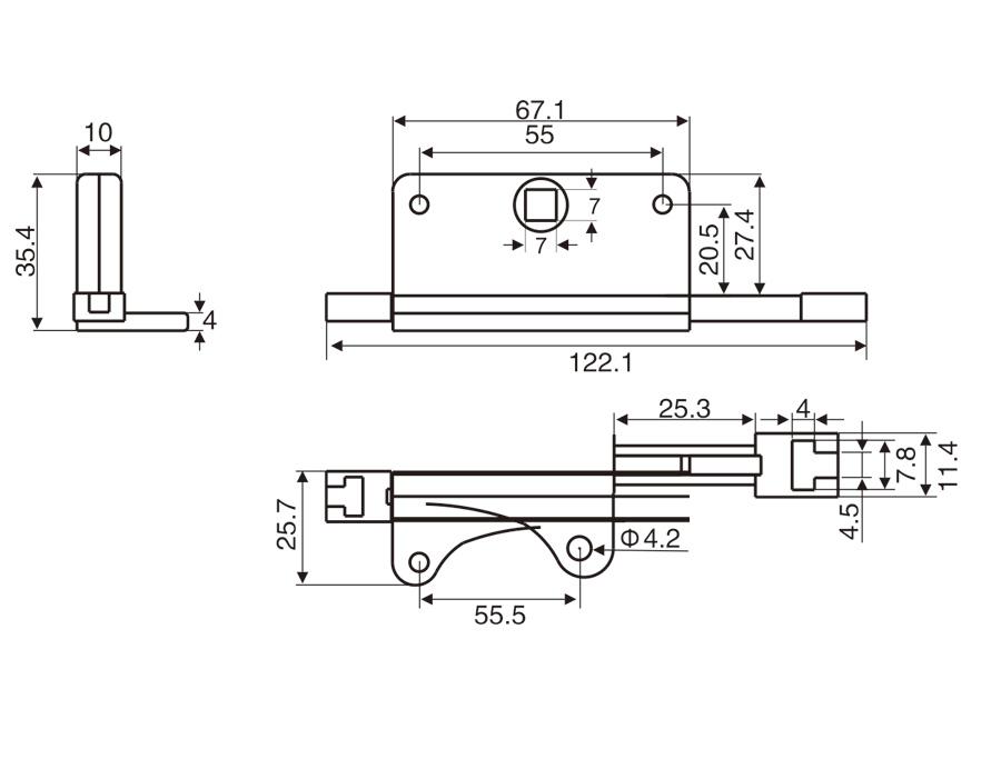 D020 單向傳動盒
