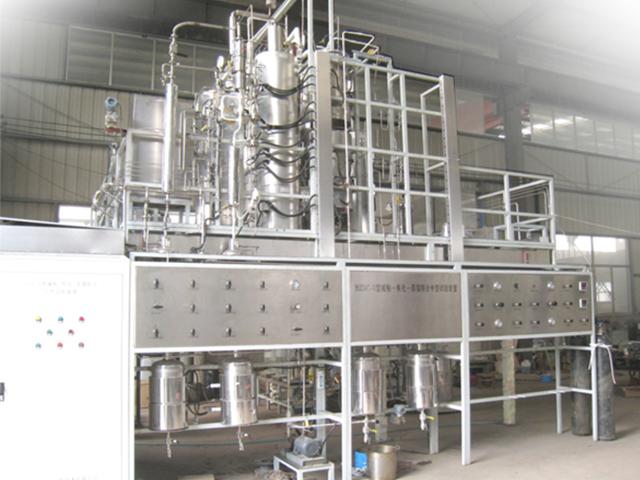 焦化-減粘-常減壓蒸餾聯合試驗裝置