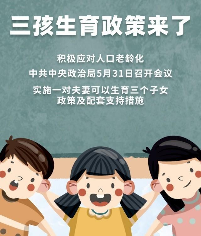 三孩生育政策帶來的影響