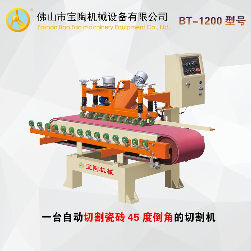 關于瓷磚自動倒角機設備使用說明