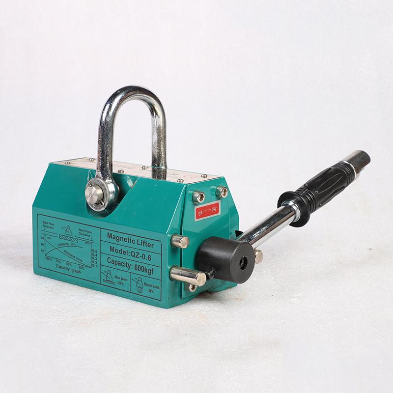 QZ1-0.6綠色手動永磁吊裝器