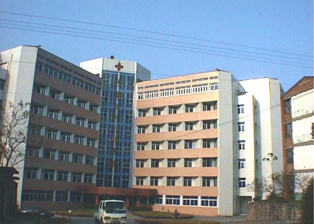 已建成的职工医院住院部大楼