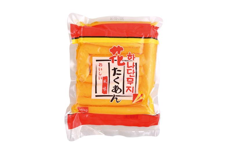 日式黃蘿卜段1kg