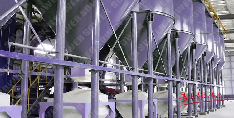 粉體輸送、計量與給料系統