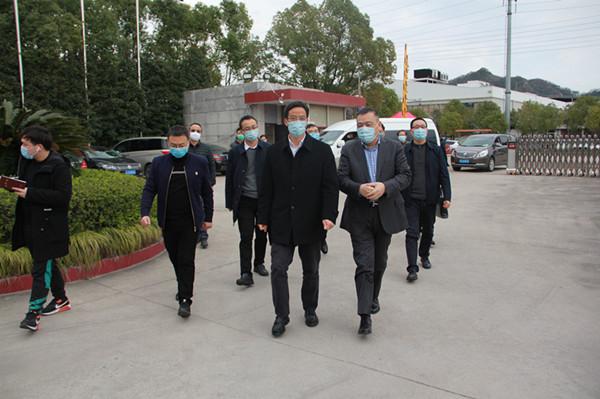臺州市委常委組織部長呂志良調研萬邦德制藥集團協調解決企業發展難題