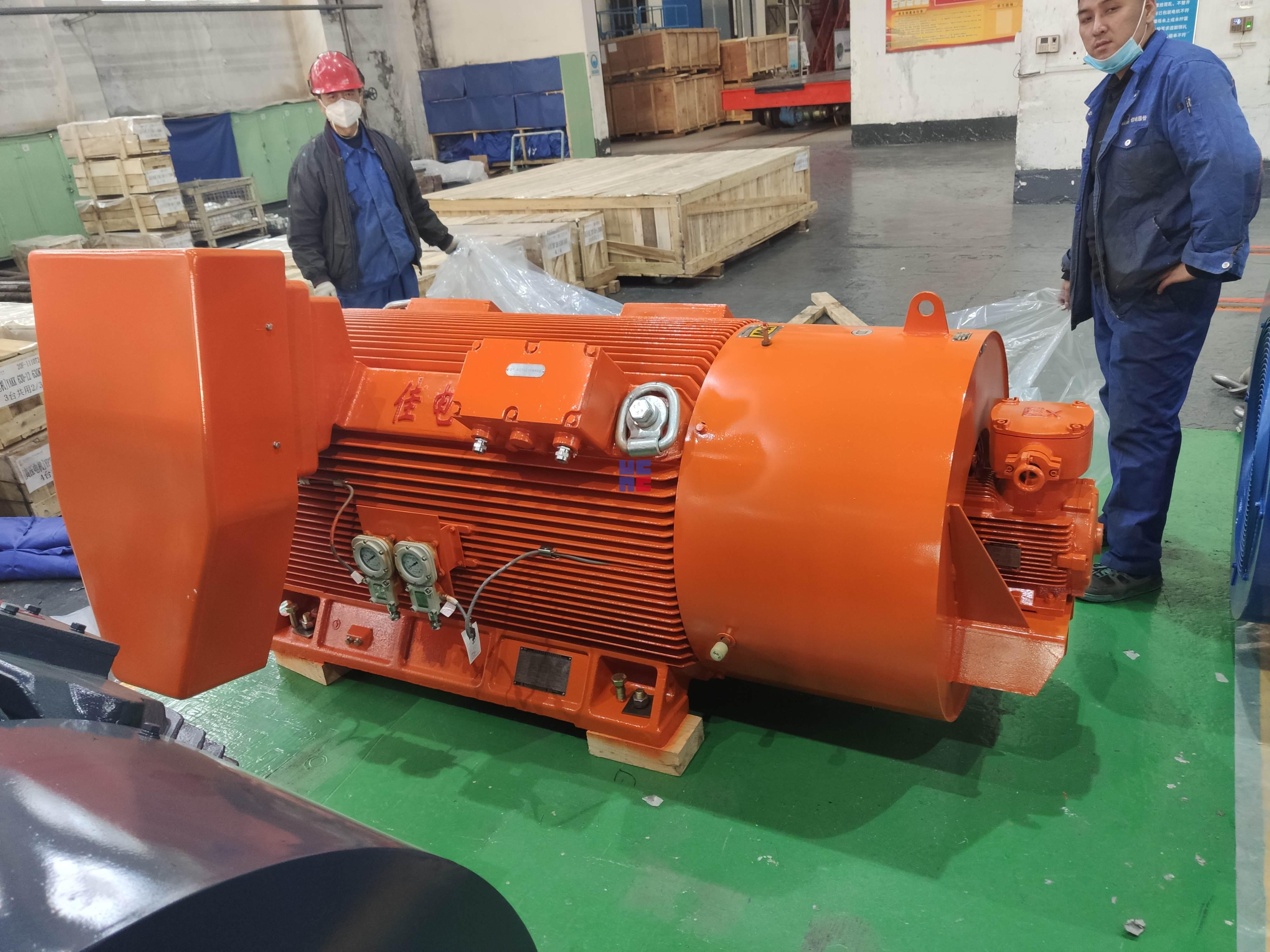 YBBP系列高壓隔爆型變頻調速三相異步電動機(H355~H560)