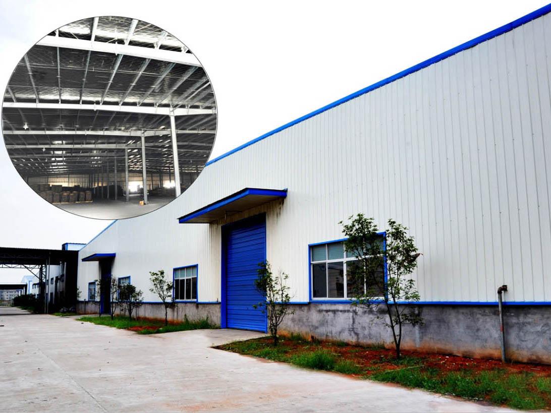 南城同昌实业公司钢结构生产厂房