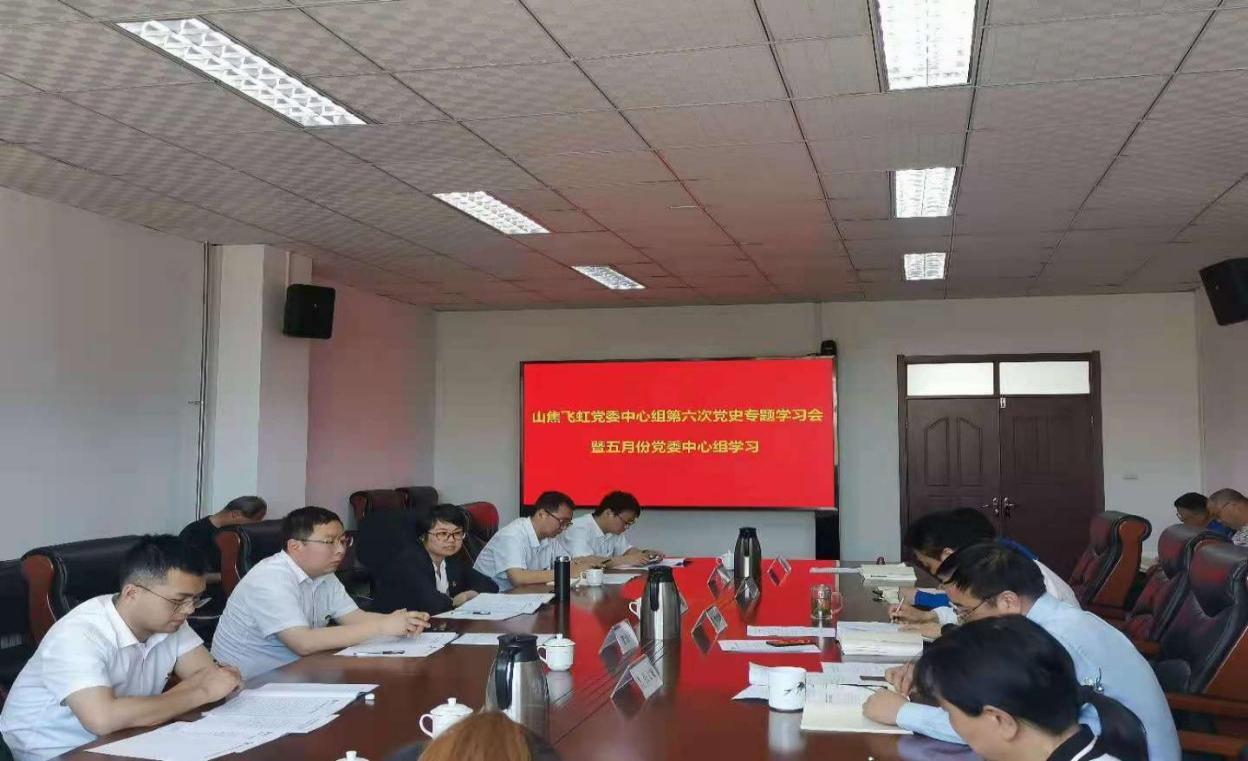 山西焦煤黨委巡回指導山焦飛虹公司黨史學習教育