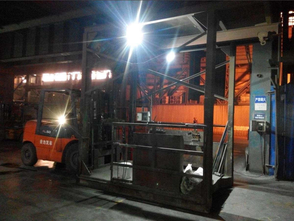轉爐擋渣施工項目及技術支持