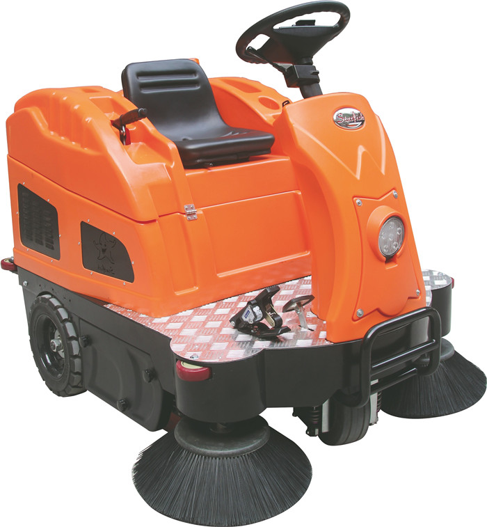 掃地車CZ1400智能版中型駕駛式