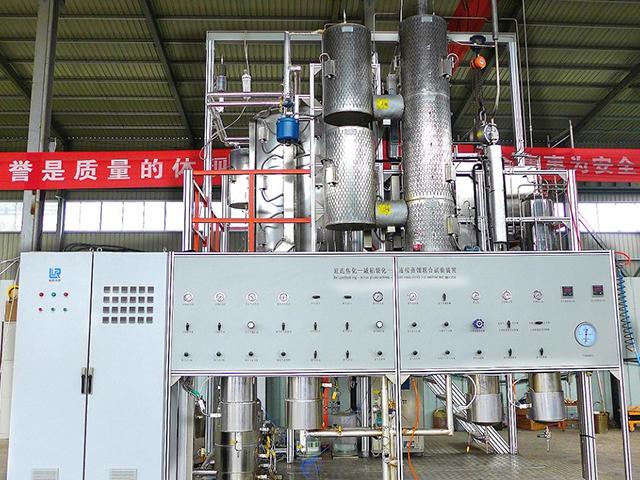延遲焦化-減粘裂化-連續蒸餾聯合試驗裝置
