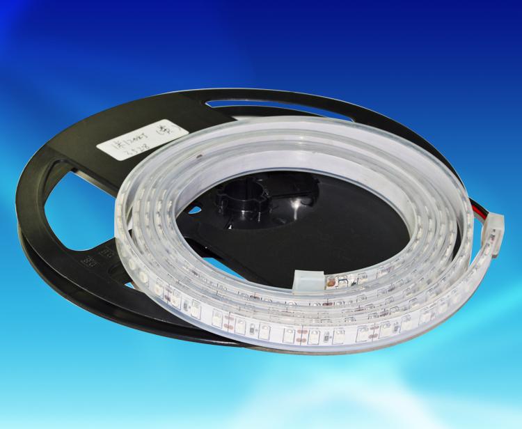 FBW105A,每米96燈3528貼片硅膠套管防水燈帶DC12V