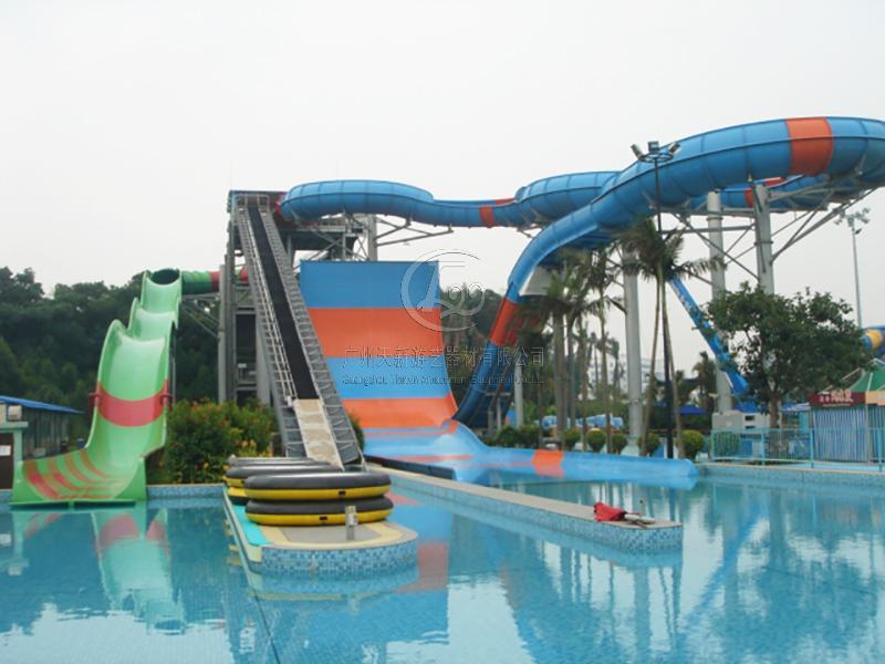 沖天回旋水上滑梯TXH-01-1