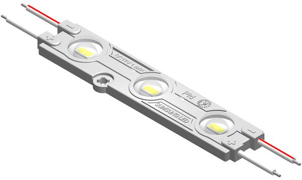 MAW195D1叁燈5630帶透鏡恒流注塑模組