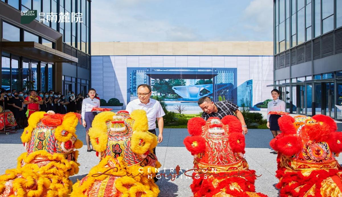 中州南麓院項目正式亮相