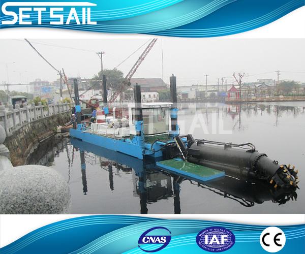 城市清淤船配用污泥脫水
