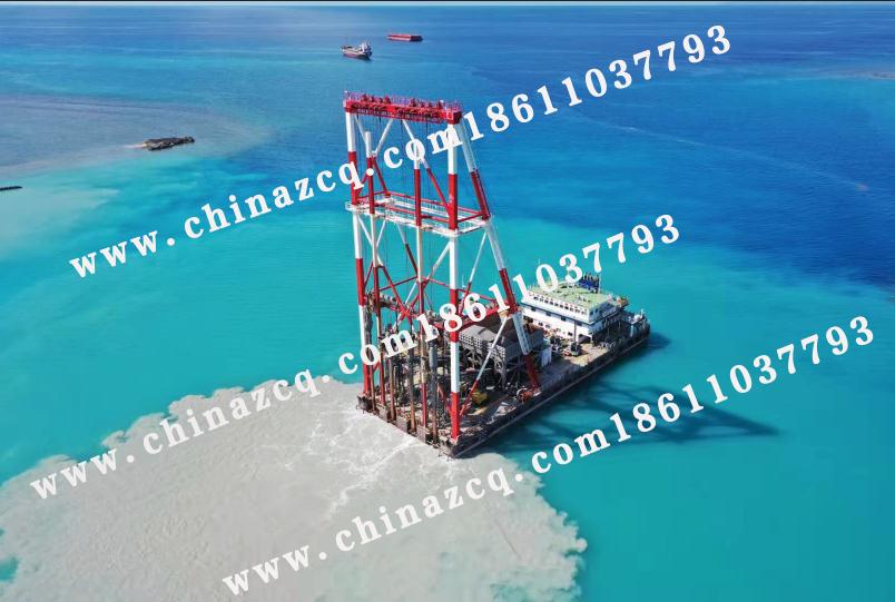 東帝汶帝巴灣集裝箱碼頭振沖項目已順利進行19個月
