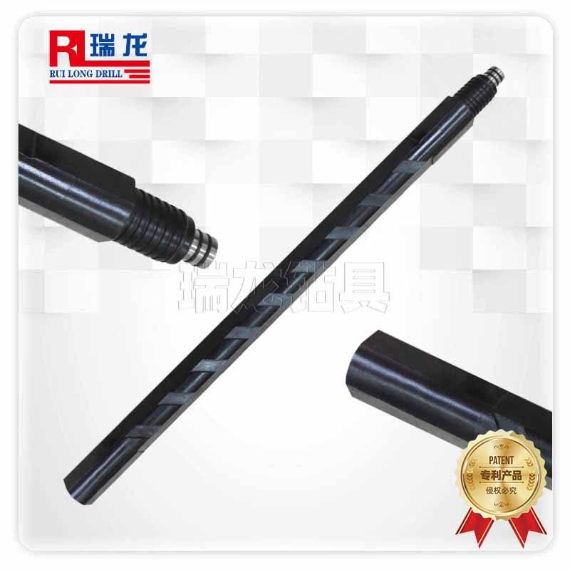 φ73重型三棱刻槽钻杆 异型多棱刻槽钻杆——瑞龙钻具