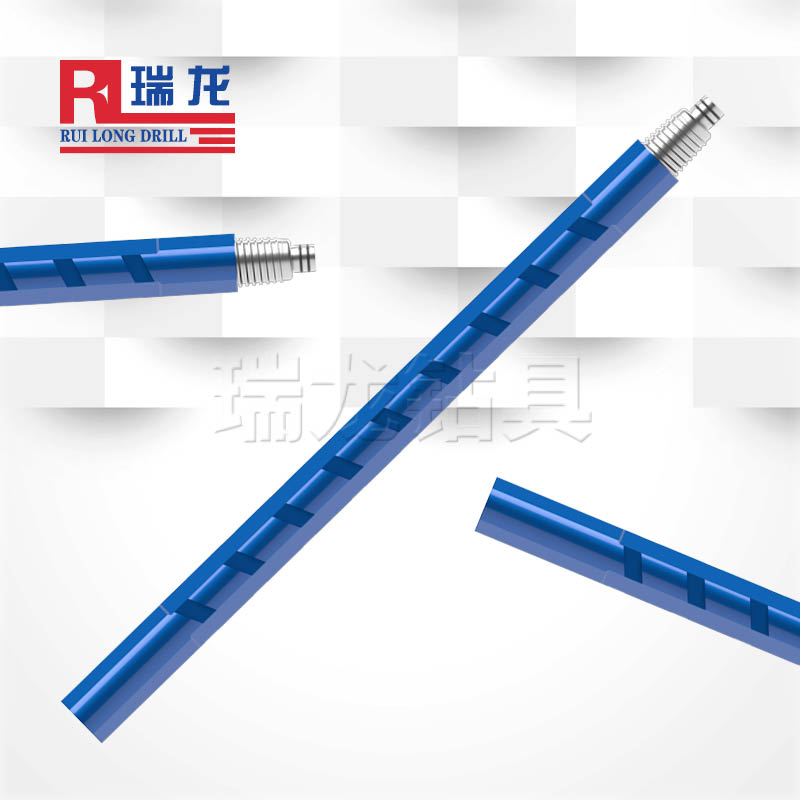 反循环定点取样钻杆 异型对棱双壁刻槽钻杆 瑞龙钻具