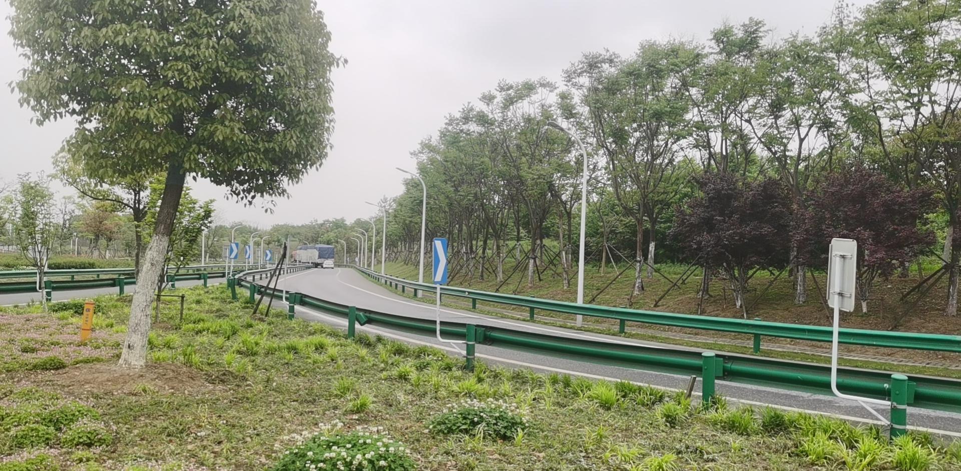 團肥路與機場高速互通立交工程