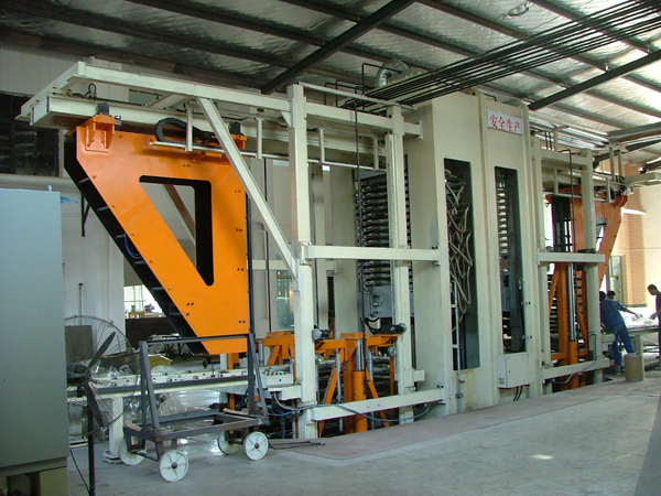 2000T-15 layer frame type insulation board press unit