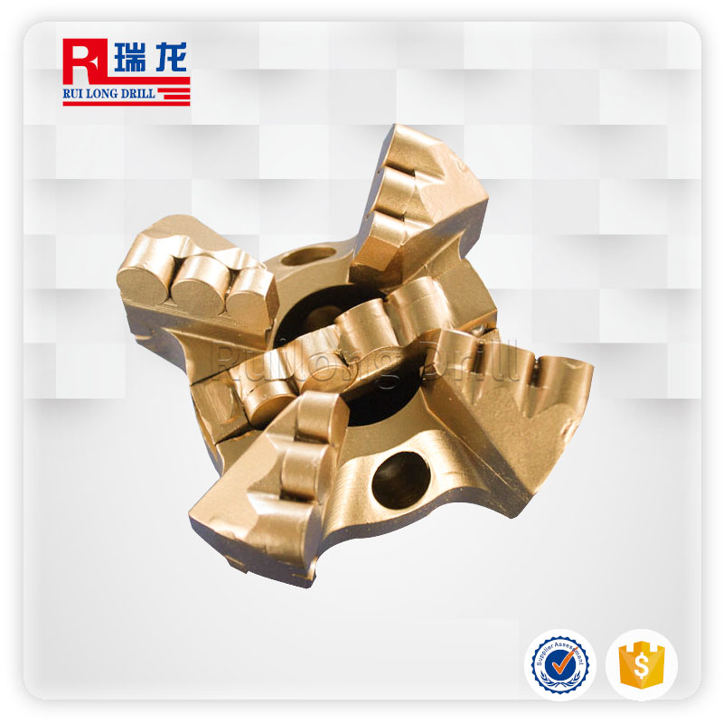 Φ113-N57.3-8.466四翼金刚石开闭合钻头瑞龙钻具