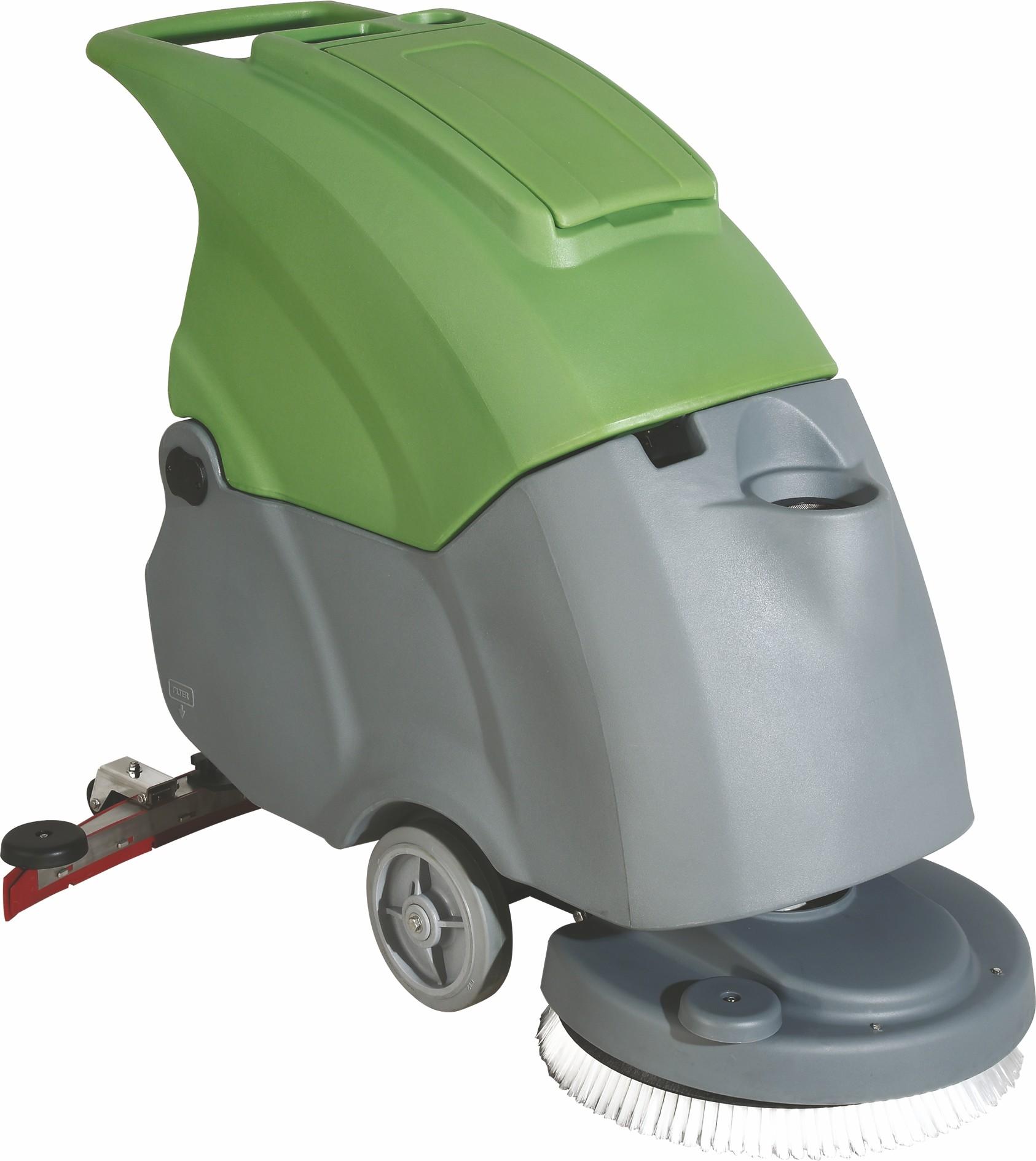 BC510 N手推式自動洗地機