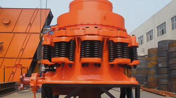 Brief introduction of characteristics of spring cone crusher