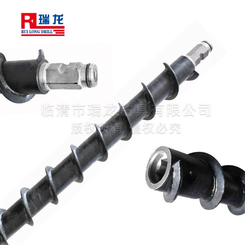 Φ100-60xB41x1500mm六方螺旋钻杆 煤钻杆——瑞龙钻具