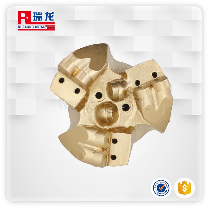 94-N50.5-5壓風降溫排渣鉆頭金剛石復合片礦用打井PDC煤礦硬巖鉆頭