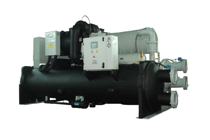 高效能水冷鹵水機組(-5℃ ~ -20℃)