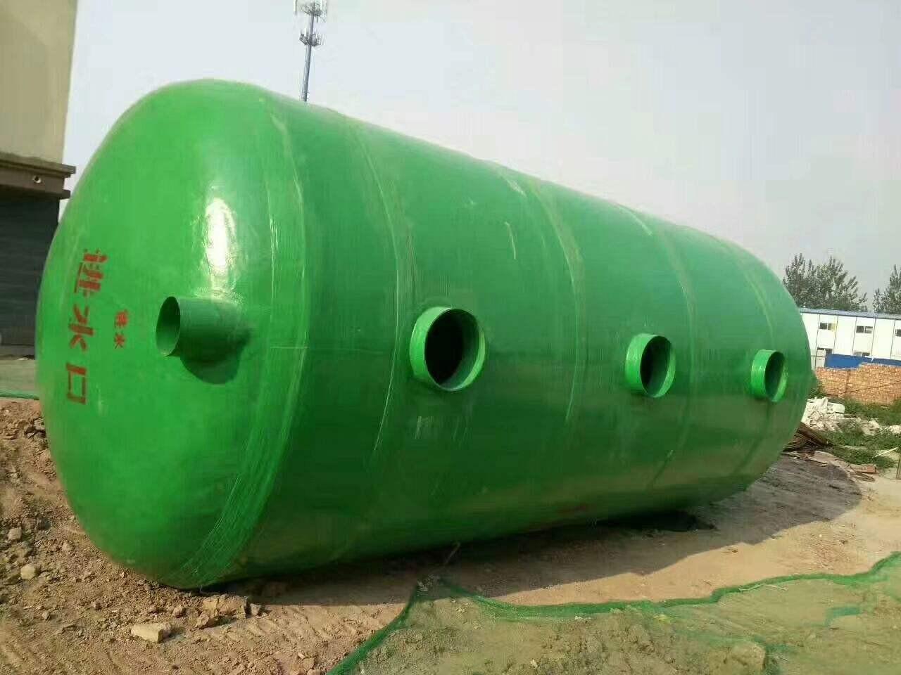 玻璃鋼化糞池為何廣泛應用于各行各業?